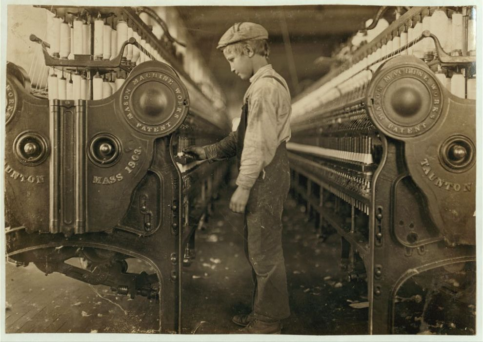 an analysis of child labor laws until 1900 This set the standard attitude towards organized work disruptions until  more active role in the american labor movement in 1900,  child labor in industry.