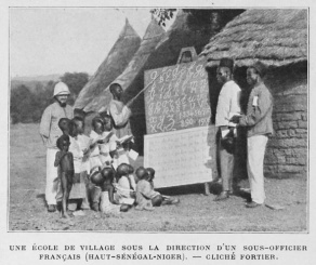 Image source-French-led school in Africa